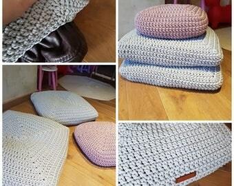 Lila, pálido piso amortiguador cubierta Plaza piso piso amortiguador niños almohada almohada-vivero Decor - hogar decoración - mascotas cojín rosa