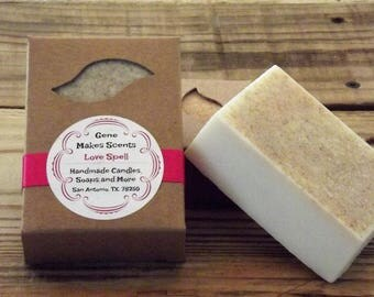 Love's Spell Luxury Handmade Soap 6.5 Oz