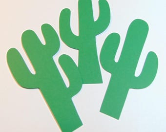Cactus Die Cuts Set of 20