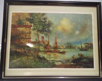 G Chiabert - Vintage Framed Print