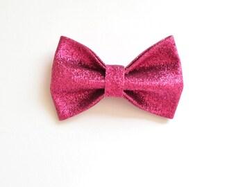Big glitter bow