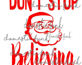 Don't Stop Believing  SVG