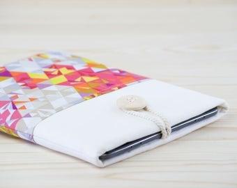ipad air 2 case - geometric fabric ipad air 2 sleeve - ipad air case  - ipad air sleeve - ipad holder - triangle fabric case