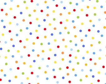 Multi Polka Dots from the Fun and Games Collection by Studio E Fabrics