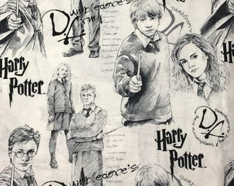 Harry Potter Cotton Fabric by Camelot Fabrics