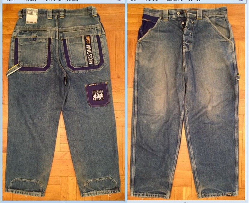 mass vintage baggy 90s hip hop clothing 1990s hip