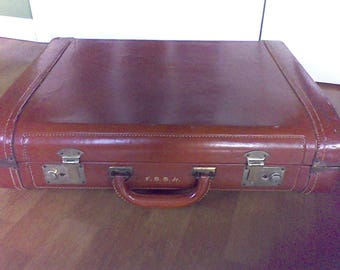 Suitcase ,old luggage,  Leather suitcase, Hipster, travel