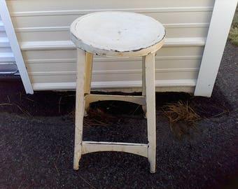 Industrial stool, work shop stool, all metal stool