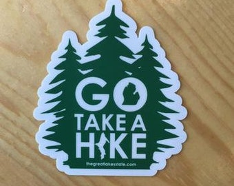 Go Take A Hike Sticker