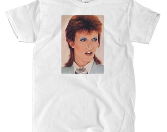 David Bowie - Ziggy Stardust - White T-shirt
