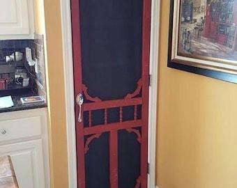 Decorative screen doors!