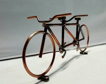 Tandem bicycle sculpture