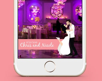 Snapchat Wedding Geofilter and No Submission to Snapchat | Wedding Geofilter | Snapchat Geofilter | Wedding Gift | Wedding Snapchat Filter