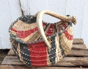 Rustic Antler Basket