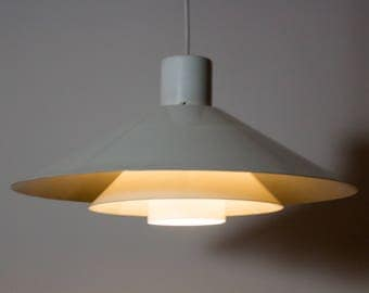 "SALE! Stylish 1970s ""Trapez"" lamp - designed by Christian Hvidt - produced by Nordisk Solar"