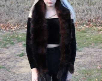 Real Vintage Sable Fur Stole