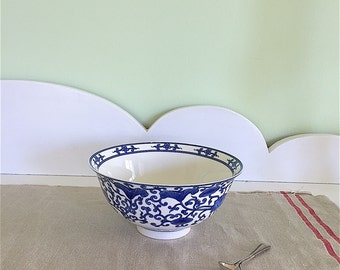 China, Blue and white, Bowl