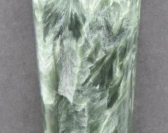 Chatoyant Seraphinite Clinochlore Cabochon
