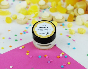 Oh Honey - Vanilla & Honey Lip Balm - Natural Lip Balm - Hen Party Favour - Pamper Gift