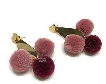 Pompon Earrings- Series 2