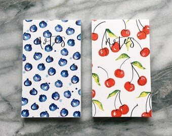 Set of 2 Notepads, notebooks, notes, blank notes, stationary, pads, scratch pads, write