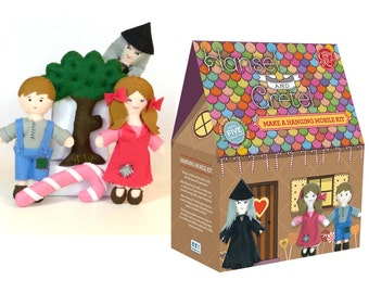 Hansel and Gretel Mobile Sewing Kit