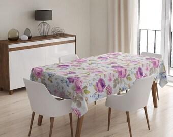 Tablecloth SOFT VIOLET ROSES