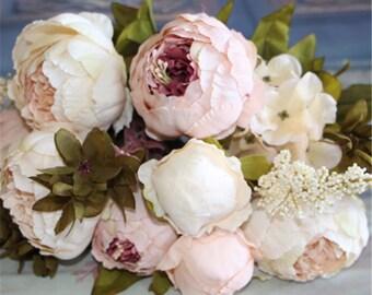 Artificial Flowers,Flower Bouquet,Flower Wreath,Fake Flowers,Wedding Flower Bouquet,Wedding Decorations,Home Ornament,Shipping WorldWide