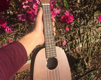 Light Wooden Ukelele Handcrafted
