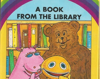 Rainbow Zippy George and Bungle Book - A Book from the Library (1980s)