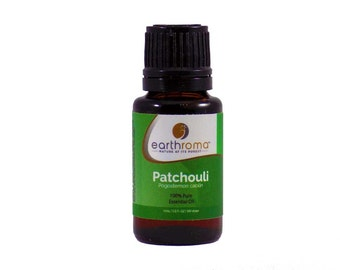 Patchouli Essential Oil | 5 mL | 15 mL | 30 mL | 100% Pure Therapeutic Grade