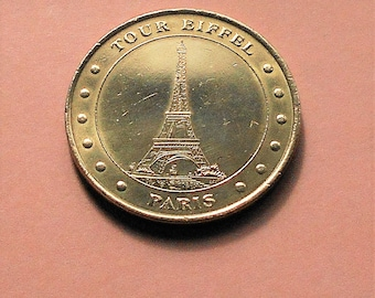 Collection Nationale -  Medaille Officielle  -  Tour Eiffel