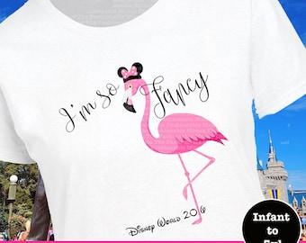 Disney World Shirt, Disney World Tee, Disney Flamingo Shirt, Disney Animal Shirt