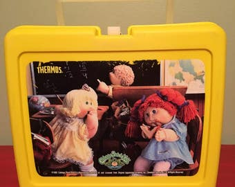 Cabbage Patch Kids Yellow Lunchbox