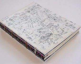 Handmade Collaged Sketchbook
