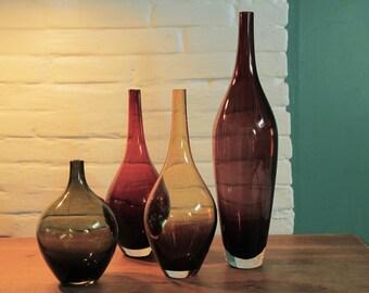 set of masters glass bottles