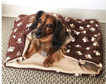 Dachshund Pocket Blanket Bed