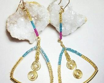 Gypsy Goddess earrings