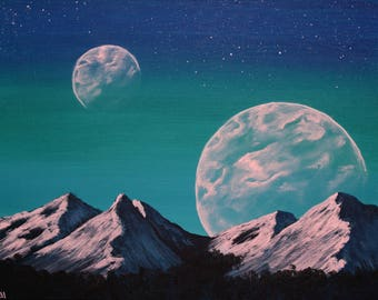 Alien Landscape #1 (Print Copy)