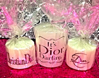 Dior Mini Candle Set of 3
