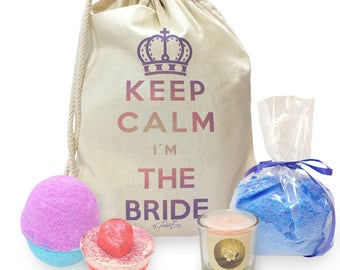 Keep Calm I'm The Bride Mini Spa In A Bag Collection 3