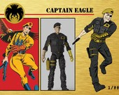Eagle Force Strikes! Limited Edition Metal Cards