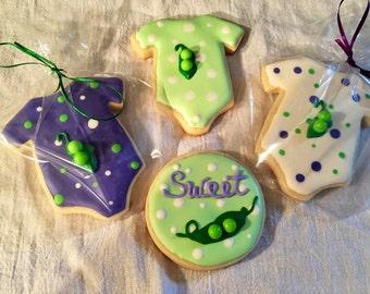 Peas in a pod sugar cookies