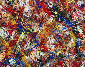 """Abstract painting """" Firing Neurons """""""