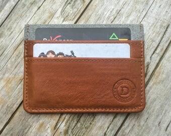 Minimalist wallet slim wallet front pocket wallet mens leather wallet credit card holder wallet leather card wallet personalized wallet.