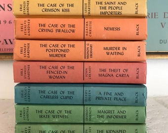 Colorful Mystery Book Collection