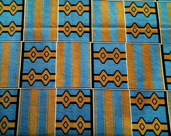 Ankara Fabric, Kente Print, African Clothing, African Fashion, Cotton Fabrics