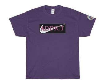 Parody Apparel: Addict / Shwoosh