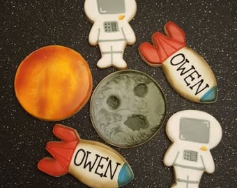 Space Theme Cookies