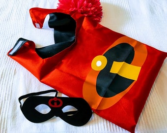 10 Sets - The Incredible - Mr Incredible of Cape and Mask